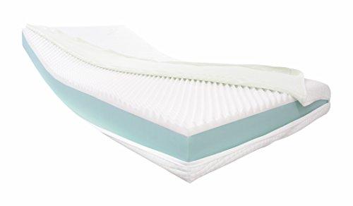 Dibapur® Visco Relax: Orthopädische Visco + Kaltschaummatratze (Hohes Raumgewicht) Auswahl x ca.16 cm Kern...