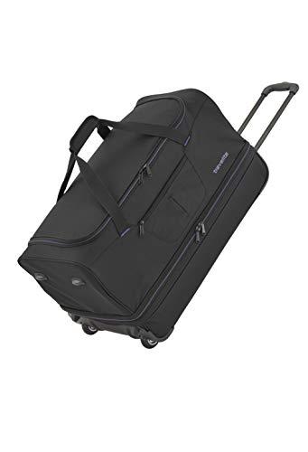 Gepäck Serie BASICS: Weichgepäck Reisetasche mit Rollen von travelite mit extra Volumen, 2-Rad Trolley...