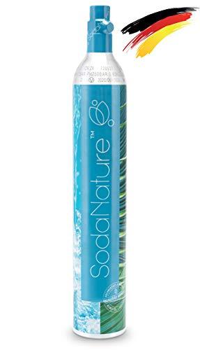 SodaNature® | Premium 60L CO2 Zylinder für SodaStream z.B. Crystal (Nicht für Duo) | Neu & Erstbefüllt in...