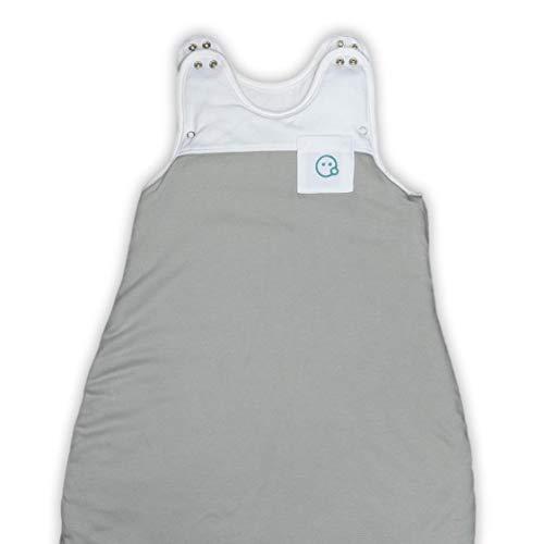 VABY – Babyschlafsack, OEKO-TEX ®, aus Baumwolle und Bambus, Ganzjahres Schlafsack, verstellbar, für...