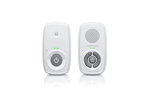 Motorola MBP21 Babyphone Audio - Digitales Babyfon mit DECT-Technologie zur Audio-Überwachung - 300 Meter...