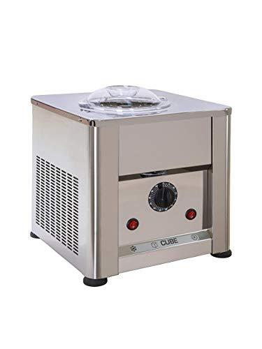 Eismaschine Cube 750 AISI 304 und 316 Edelstahl - Made in Italien Eiscreme und Sorbets 0,750 kg in 25 ' Mit...
