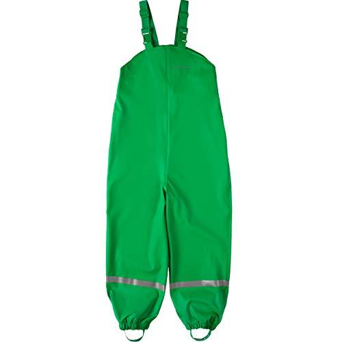 BMS Regenhose Buddelhose Matschhose für Kinder in Grün Größe 116