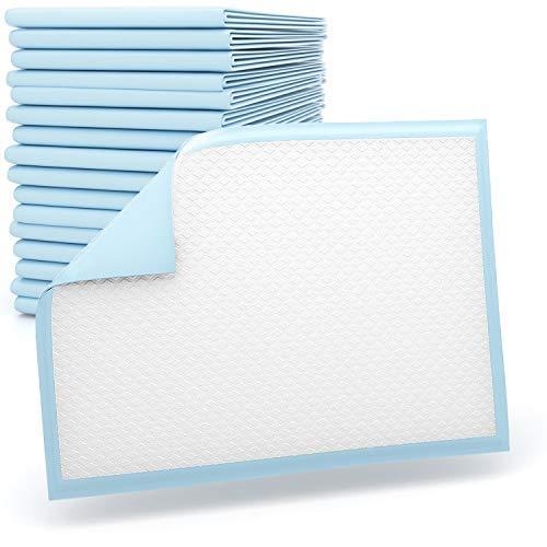 Einmalunterlagen – Wickelunterlagen - Tierunterlagen - blau 60 x 45 cm - 5 lagig von SiaMed - 50 Stück