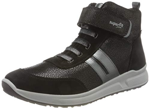 Superfit M dchen Merida Sneaker, Schwarz 0000, 26 EU