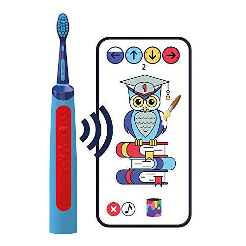 Playbrush Smart Sonic: smarte elektrische Schallzahnbürste für Kinder mit interaktiver Spiele-App