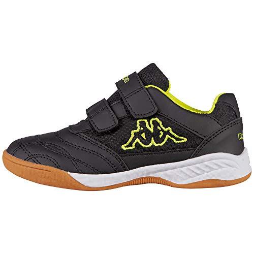Kappa Kickoff Sneaker, 1140 Black/Yellow, 30 EU