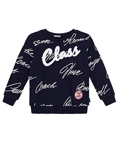 GULLIVER Jungen Sweatshirt Kinder Langarmshirt Navy Blau Baumwolle für 5 Jahre