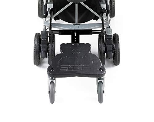BREVI Wally Trittbrett für Buggy oder Kinderwagen (schwarz)