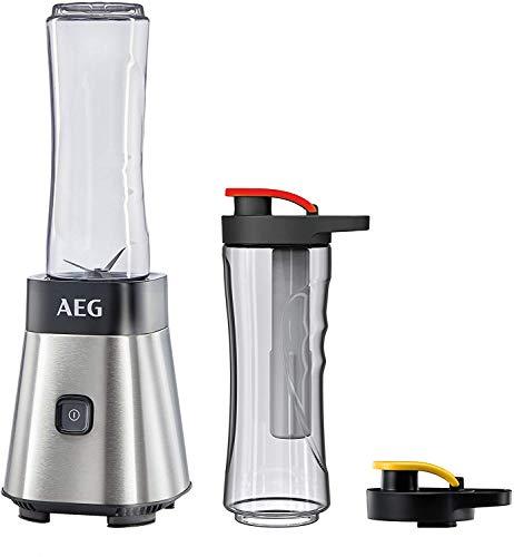AEG MiniMixer SB 2700 Standmixer (0,4 PS-Power-Motor, 23.000 U/Min, 2 spülmaschinen- und bruchfeste 600 ml...