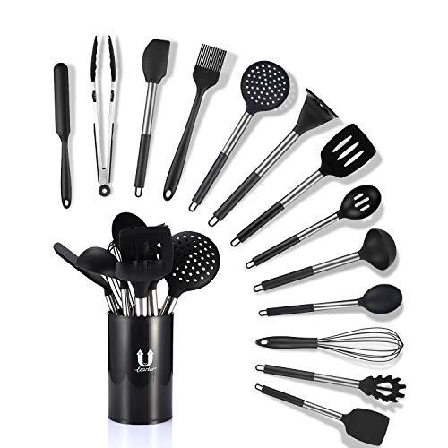 Uarter Küchenhelfer Küchenutensilien Set Silikon Küchenutensilien Küchenutensilien Home Kitchen Cooking...