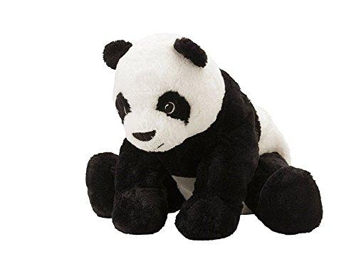 IKEA Stofftier 'Kramig Panda' Plüschtier Panda-BÄR - 30cm großer Teddybär - sehr kuschelig - waschbar -...