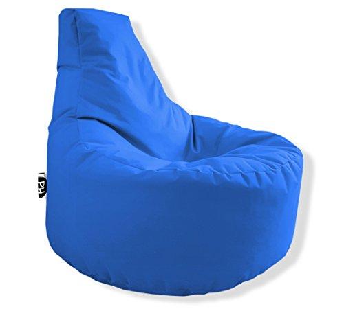 Patchhome Gamer Kissen Lounge Kissen Sitzsack Sessel Sitzkissen In & Outdoor geeignet fertig befüllt |...