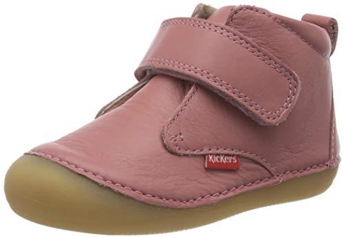 Kickers Unisex Baby Sabio Stiefel, Pink (Rose Antique Perm 132), 20 EU