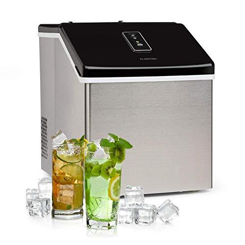 Klarstein Clearcube Eiswürfelmaschine - produziert Klareis, Produktionskapazität: 13kg/24h, Bedienfeld mit...