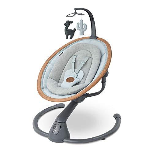 Maxi-Cosi Cassia Babywippe, Elektrische Babyschaukel für neugeborene mit musik, Ab der Geburt bis zu6...