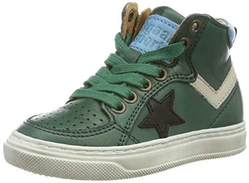 Bisgaard Jungen Isak Hohe Sneaker, Grün (Green 1002-3), 25 EU