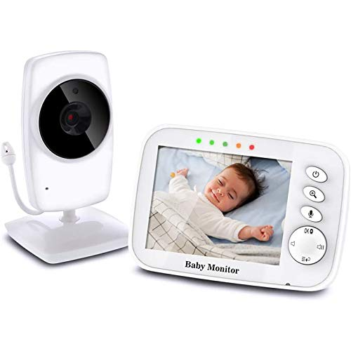 TOPERSUN Baby Phone 3,2-Zoll Baby Monitor 2.4 GHz Baby Kamera mit LCD Nachtsichtkamera HD Digital Video &...