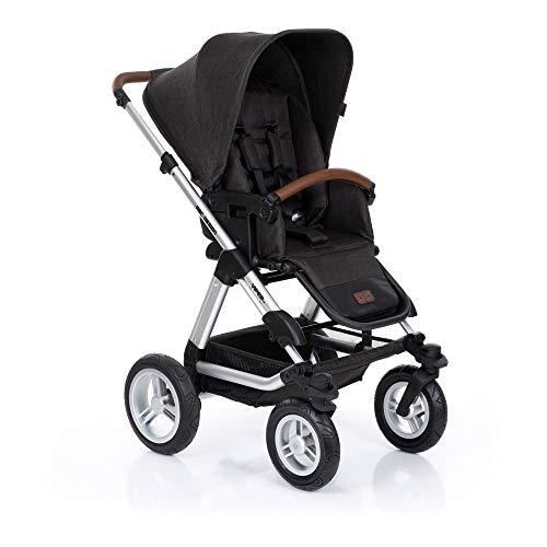 ABC Design Kombi-Kinderwagen Viper 4-2in1 Set aus Babywanne und Sportwagen | mit großen Lufträdern und...