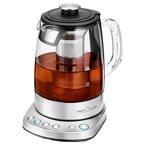ProfiCook PC-WKS 1167 G, 2in1 Tee- und Wasserkocher, kostenlose App, programmierbare Temperaturregelung,...