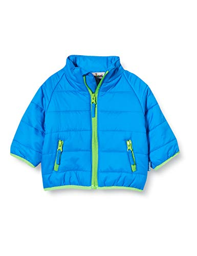 Playshoes Unisex Baby Jacke Steppjacke, (Blau 7), 92