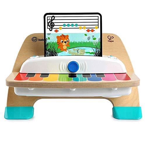 Baby Einstein Hape Magic Touch Piano Musikspielzeug Klavier aus Holz, mit 3 Notenblättern und 6 Liedern, ab...