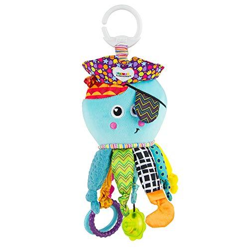 Lamaze Baby Spielzeug 'Captain Calamari, die Piratenkrake' Clip & Go, Hochwertiges Kleinkindspielzeug,...