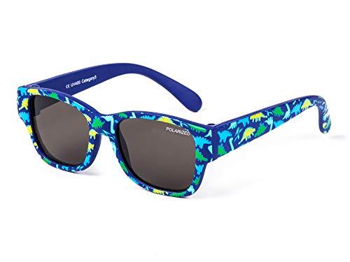 Kiddus Baby Sonnenbrille POLARISIERT Linsen für Jungen Mädchen. Ab 8 Monaten. Mit flexiblen Beinen. UV400...
