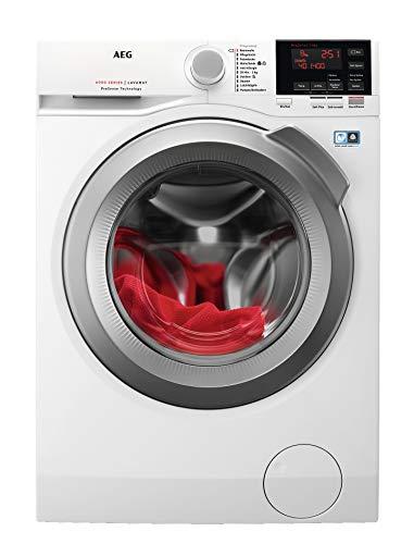 AEG L6FBA68 Waschmaschine / 8 kg / Waschvollautomat mit Mengenautomatik, Nachlegefunktion, Kindersicherung,...