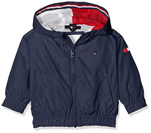 Tommy Hilfiger Mädchen Essential Light Weight Jacket Jacke, Blau (Twilight Navy C87), 3-4 Jahre...