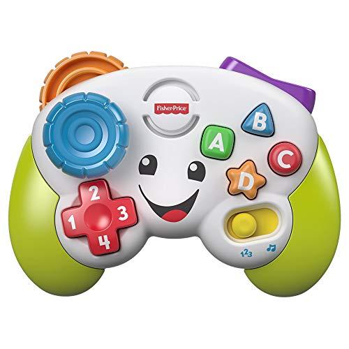 Fisher-Price FWG14 - Lernspaß Spiel Controller Lernspielzeug und Baby Spielzeug für Buchstaben Zahlen Formen...