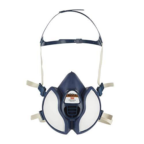 3M Atemschutz-Halbmaske Wartungsfrei 4251+, Filter FFA1P2 R D, leichteres Atmen durch verbessertes...