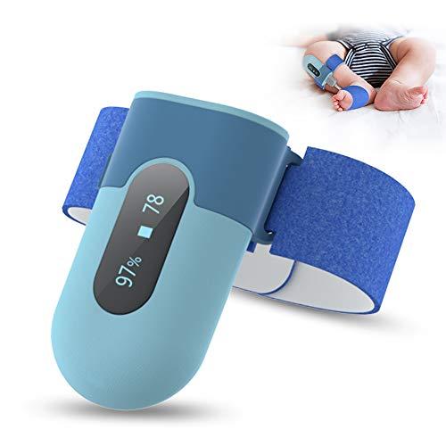 Sensor-Foot zur Atmungsüberwachung bei Babys & Kindern | misst Herzfrequenz, Sauerstoffsättigung,...