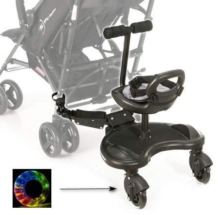 Board mit Sitz für Rollstühle mit Sitz Universelle Plattform für ältere Kinder Jeder Kinderwagen Das...