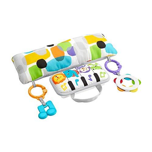 Fisher-Price GJD27 - Musik Spielkissen, Musikspielzeug zum Spielen in der Bauchlage, Babyausstattung ab der...