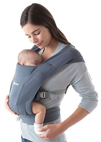 Ergobaby Embrace Babytrage für Neugeborene ab Geburt Extra Weich, Bauchtrage Baby Tragetasche Ergonomisch,...