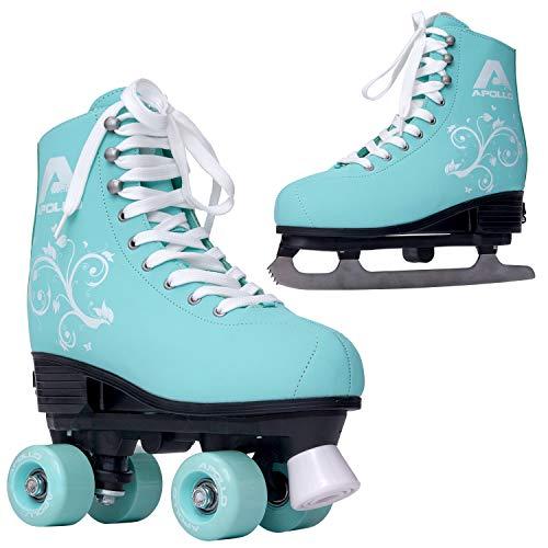 Apollo Superskate 2 in 1, Multiskates, Rollschuhe & Schlittschuhe für Damen und Kinder, Skates in 3 Größen,...