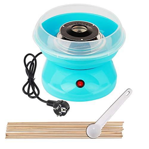 MultiWare 450W Zuckerwattemaschine Blau Zuckerwatte Maschine für Zuhause Automat Zuckerwattegerät Cotton...