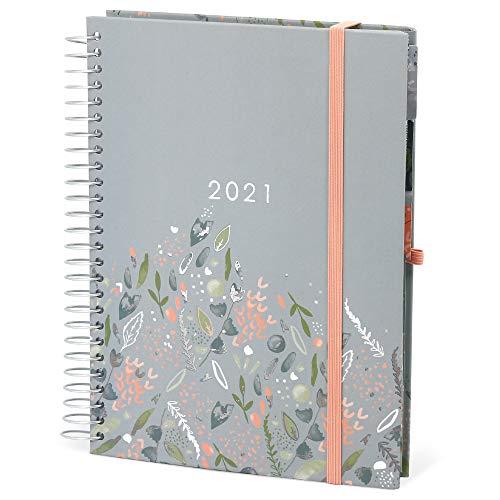 Boxclever Press Familienplaner Kalender 2021. Terminplaner 2021 A5, Wochenplaner mit 7 Spalten für ein viel...