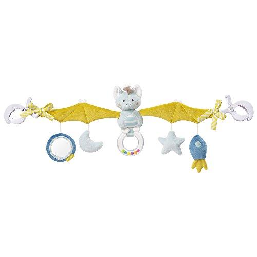 Fehn 065114 Kinderwagenkette Fledermaus – Mobile-Kette mit niedlichen Figuren für Babys und Kleinkinder ab...