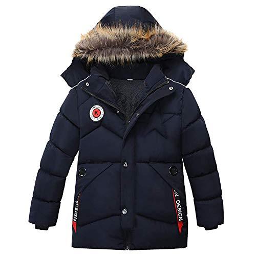 AMIYAN Baby Jungen Warm Steppjacke Baumwolle Winter Mantel Dicke Kinderjacke Winterjacke Flaum gefüttert...