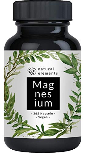 Premium Magnesiumcitrat - Vergleichssieger 2020* - 2250mg davon 360mg elementares Magnesium pro Tagesdosis -...