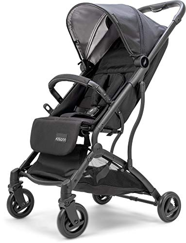 Osann Sport-Buggy Vegas – sportlicher Kinderwagen ab Geburt bis 22 kg – Buggy in Silbergrau mit...