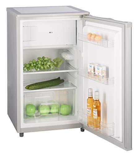 Kühlschrank mit Gefrierfach A++ (90 Liter) 4-Sterne-Gefrierfach, LED-Innenbeleuchtung, Abtauautomatik,...