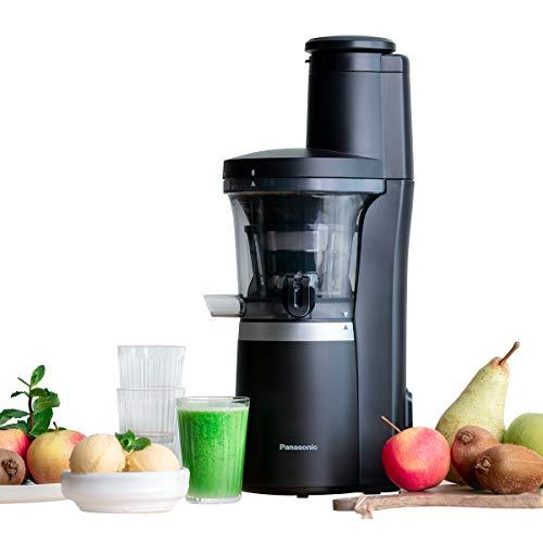 Panasonic Slow Juicer MJ-L700 (Entsafter für Gemüse/Obst, automatische Saftpresse, Sorbet Herstellung,...