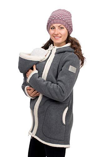 Viva la Mama - Winterjacke Mama und Baby Tragejacke warm Wintertragejacke Umstandsjacke für Winter - Arctica...
