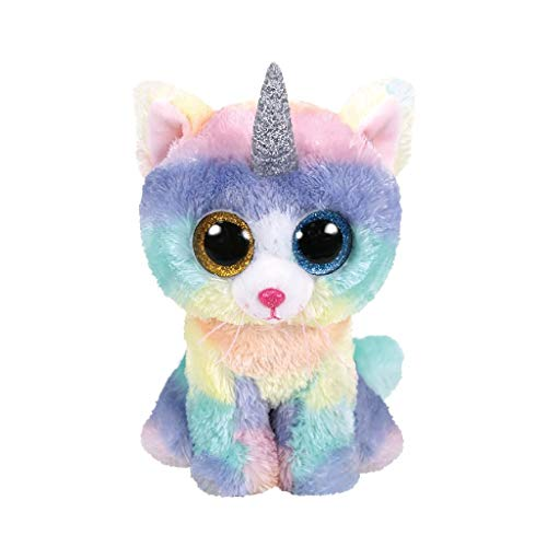 Heather Katze With Horn - Beanie Boos