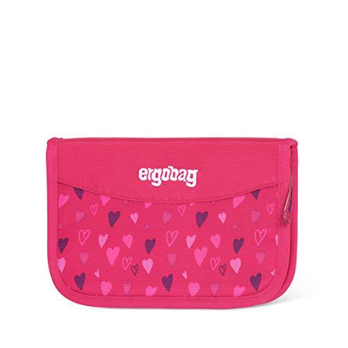 ergobag Federmäppchen - befüllt, Kleingeldfach, Stundenplan - HufBäreisen - Pink