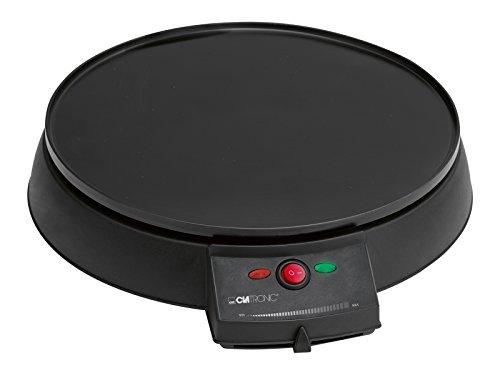 Clatronic CM 3372 Crêpemaker / stufenlos regelbarer Thermostat / Ø 29 cm / antihaftbeschichtet / inkl....