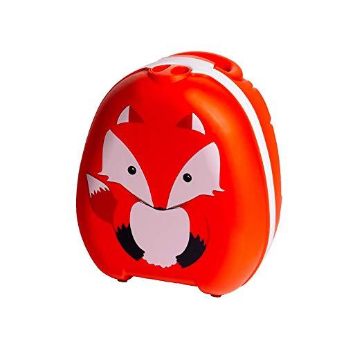 My Carry Potty - Fuchs Travel Töpfchen, preisgekrönter tragbarer Toilettensitz für Kleinkinder, den Kinder...